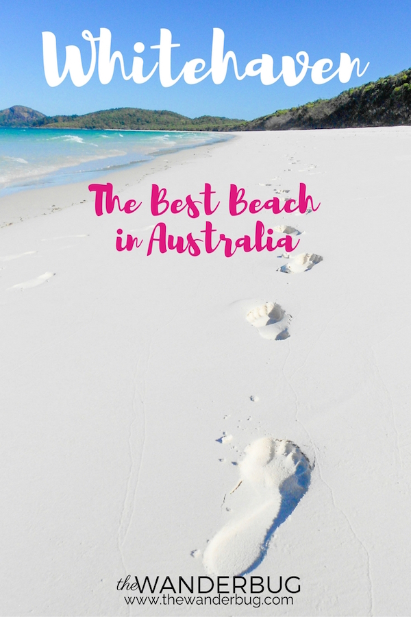 Whitehaven Beach Best Beach Australia