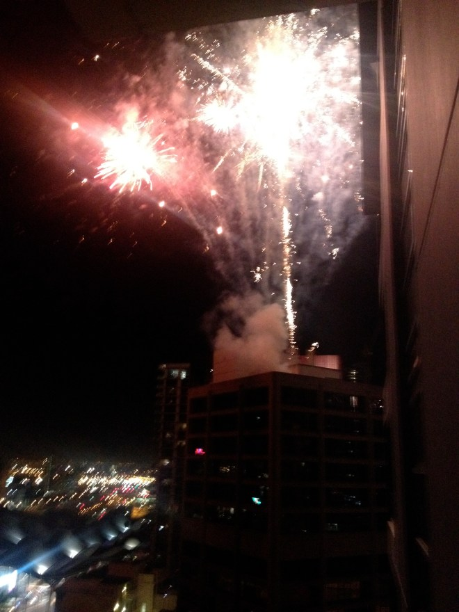 Melbourne New Years Eve Fireworks