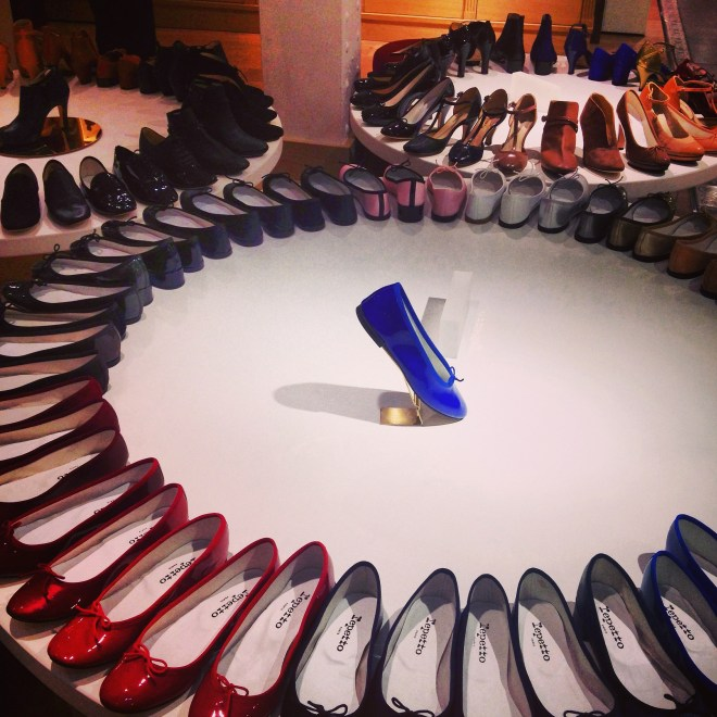 Repetto ballet flats at BHV department store paris