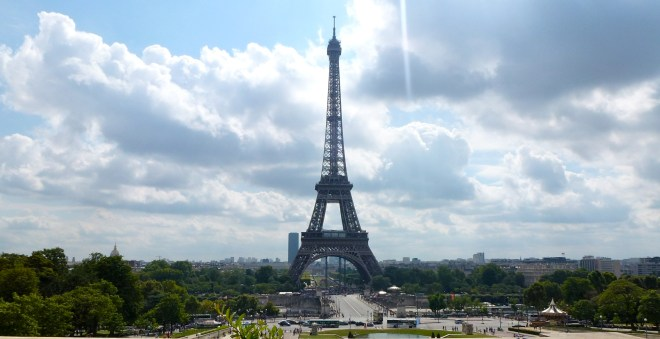 View from the trocadero paris