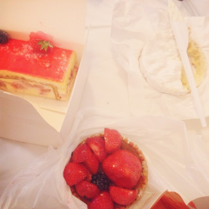 Pastries & Cheese in Paris