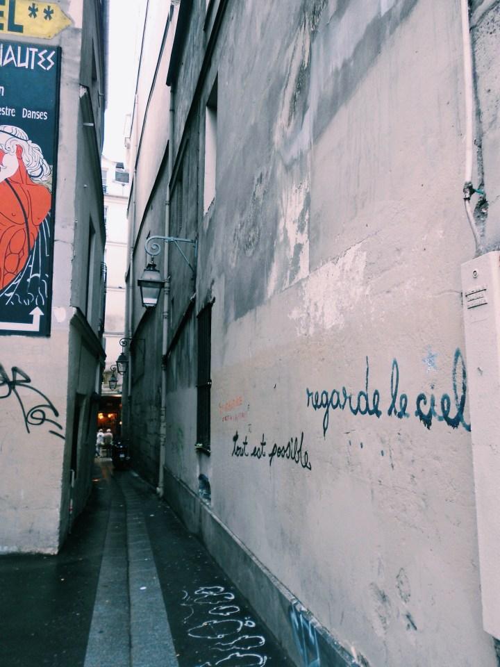 Latin Quarter Alleyway Paris