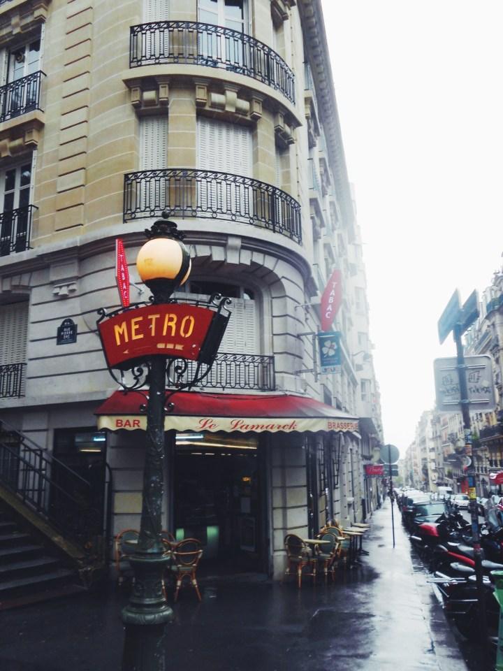 Montmartre Metro Paris