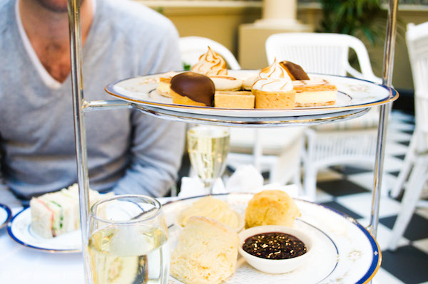 High Tea at Hadleys Hotel Hobart
