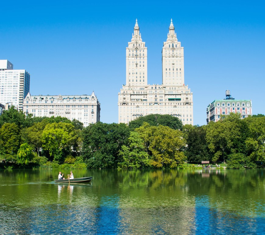 Central Park Lake Views NYC