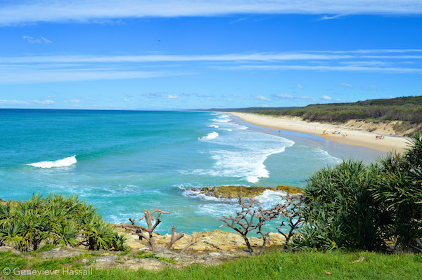 Point Lookout Beach Stradbroke Island
