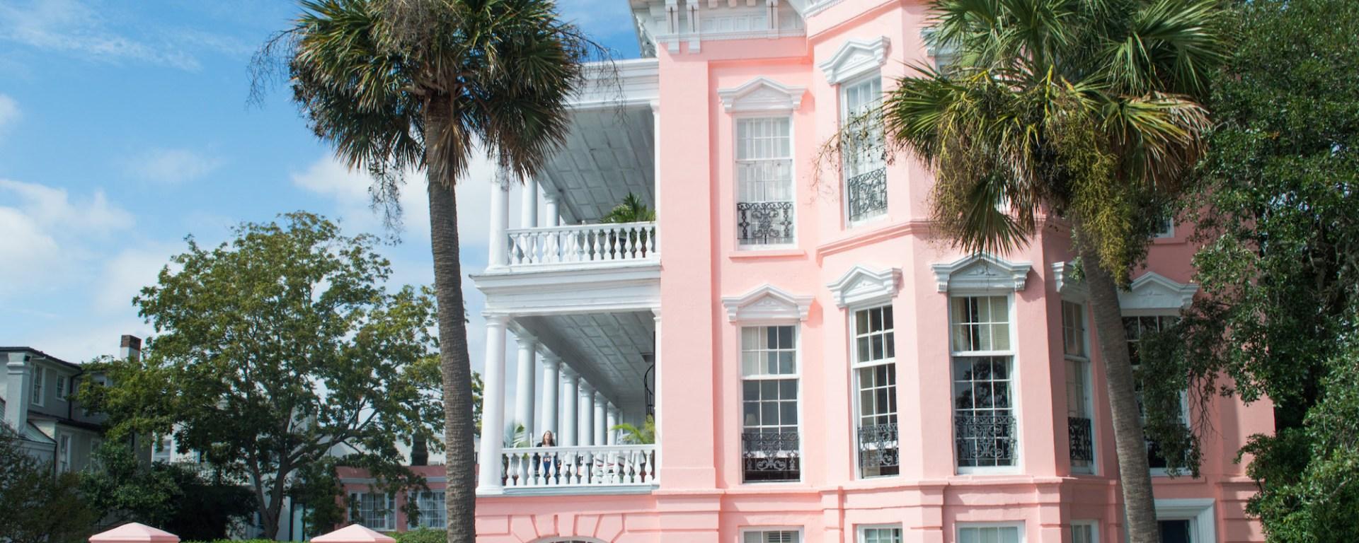 Palmer house B&B Charleston HEADER