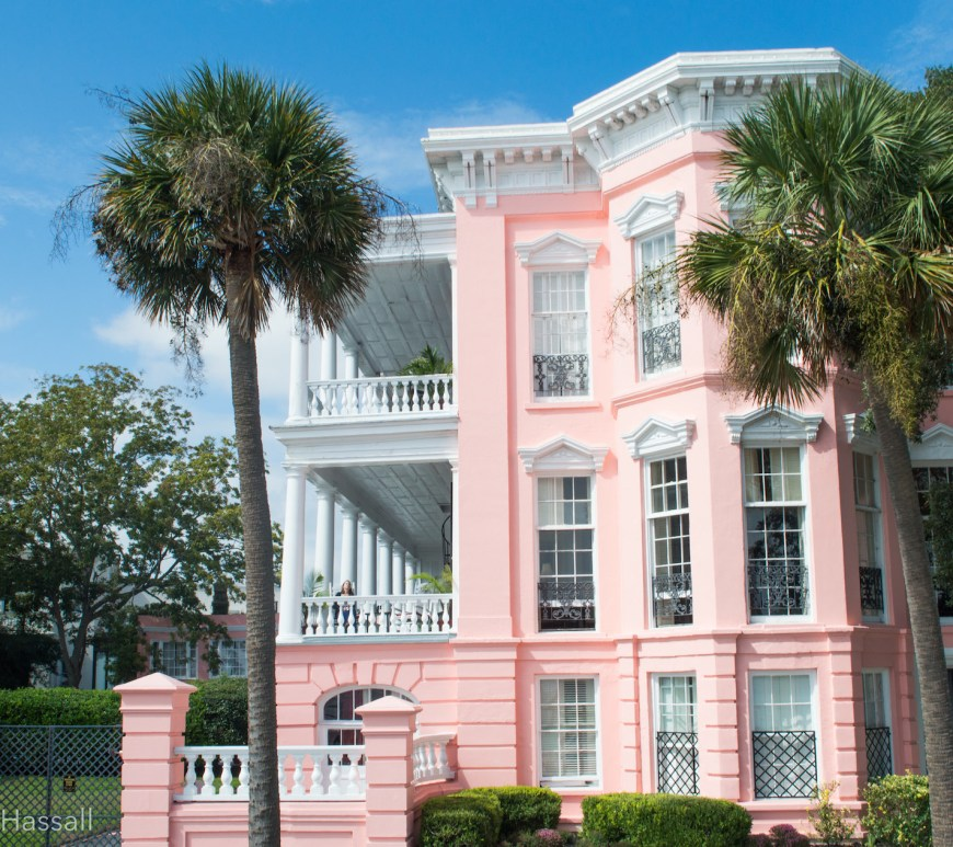 Palmer house B&B Charleston HEADER