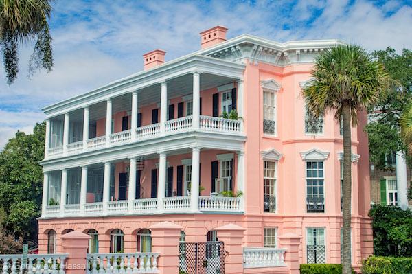 Palmer House Pink Mansion on the Battery Chalrleston