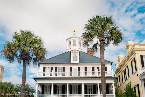 Mansion on the Battery Charleston SC USA