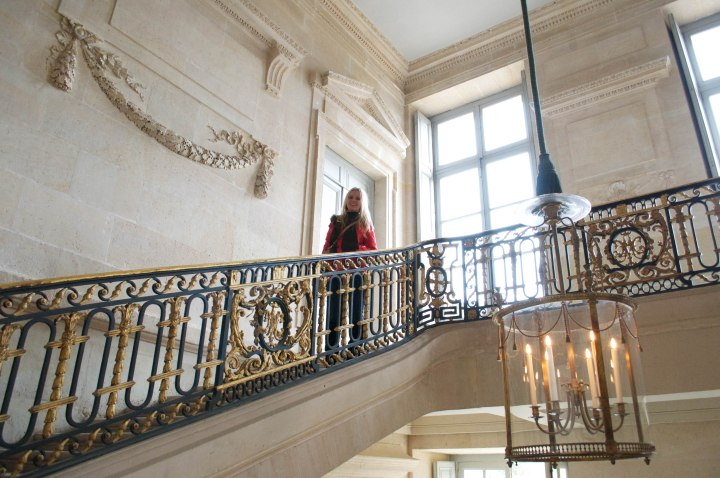 Inside Petit Trianon