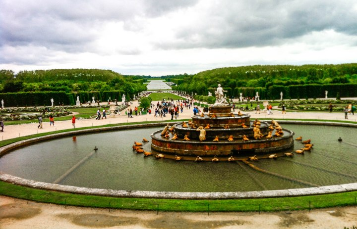 Latona Fountain in the Gardens of Versailles