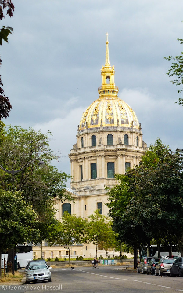 Gold Dome of Hotel des Invalides Paris