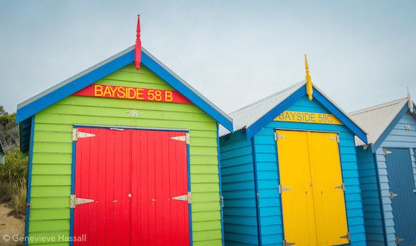 Brighton Bathing Boxes Melbourne