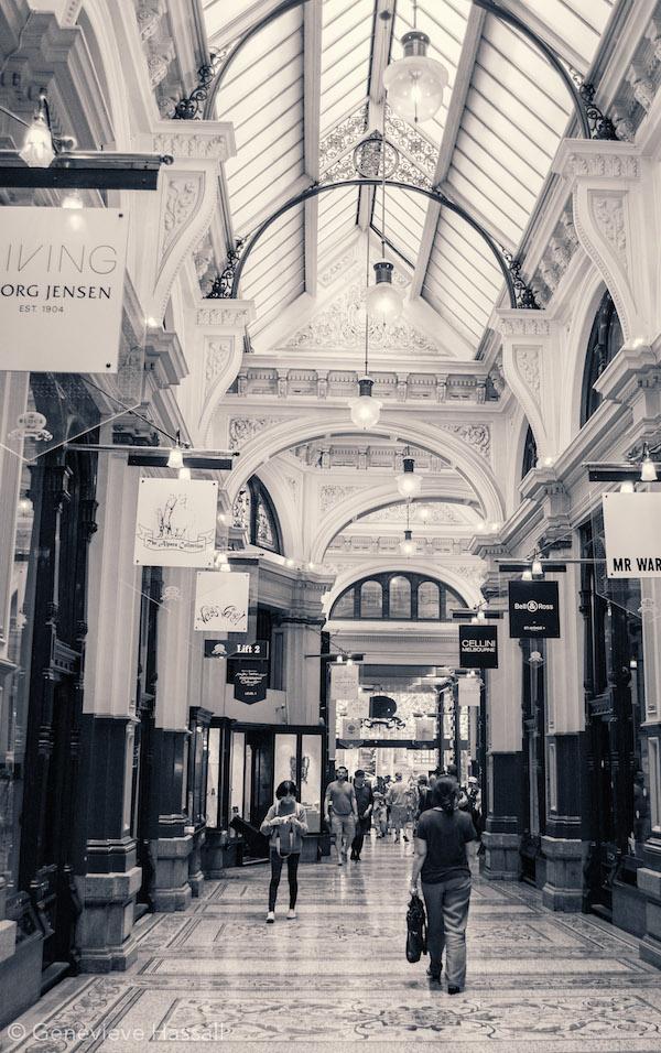 Melbourne's Block Arcade