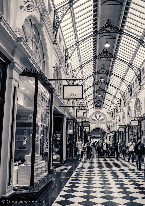 Melbourne's laneways Royal Arcade