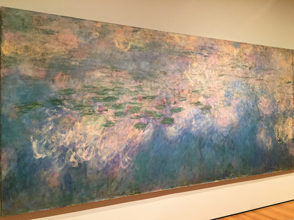 Water Lilies Claude Monet MOMA