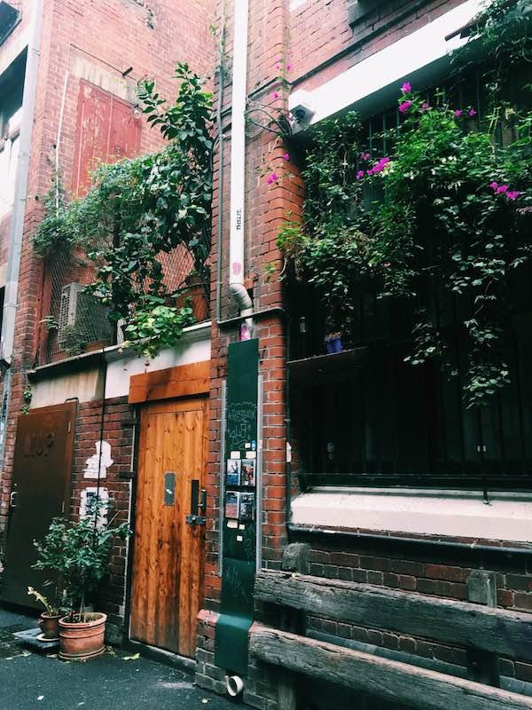 Laneway Little Bourke Melbourne