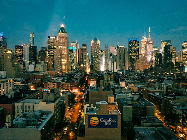 Press Lounge Rooftop Bar Hells Kitchen Views of New York City