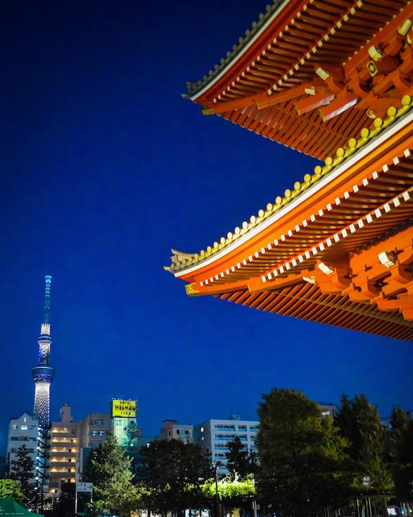 Senso-Ji & Tokyo Sky Tree Asakusa