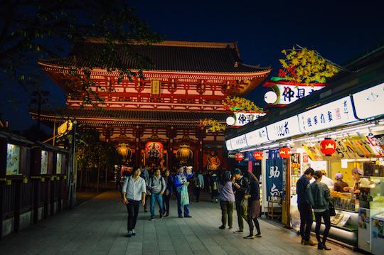 Senso Ji Temple in Asakusa, Tokyo Japan