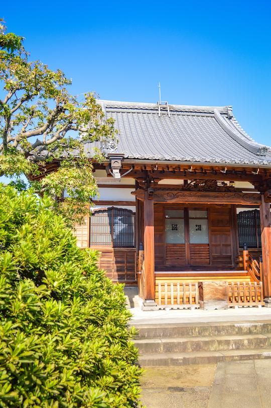 Temples in Yanaka Tokyo
