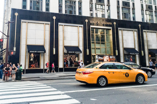 Bergdorf Goodman Luxury Department Store on the Upper East Side, One of the Top Experiences in New York City