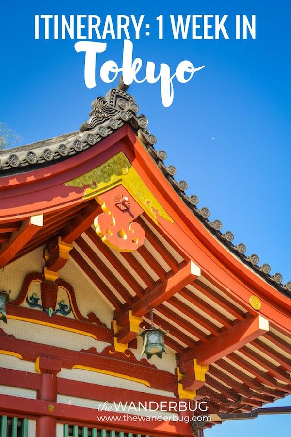 Itinerary 1 Week in Tokyo