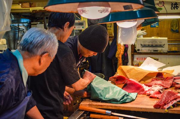 Tsukiji Interior Market Tokyo