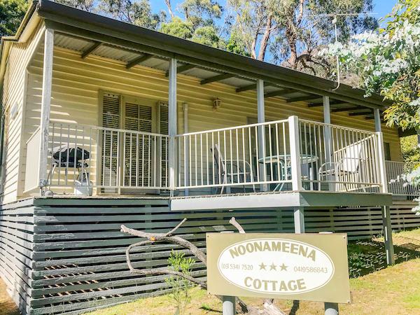 Noonameena Cottage the grampians
