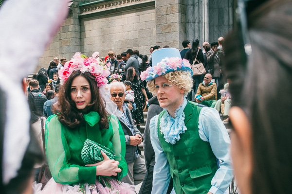 at 5th avenue easter parade nyc