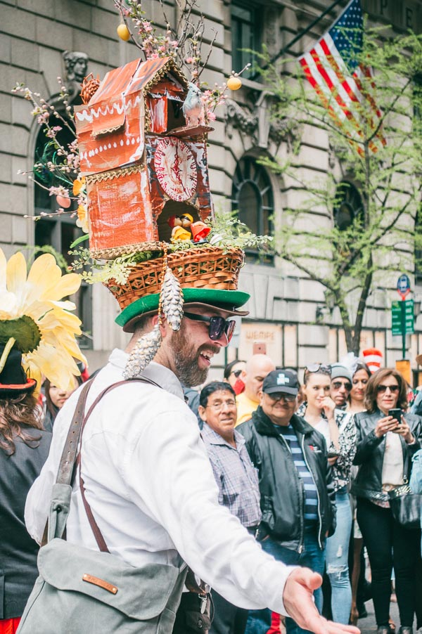 german costume at 5th avenue easter parade nyc
