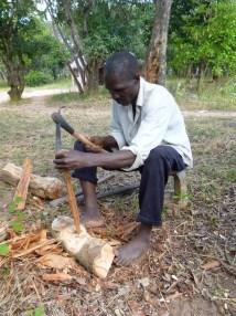 Barefoot Wanderer In Zambia