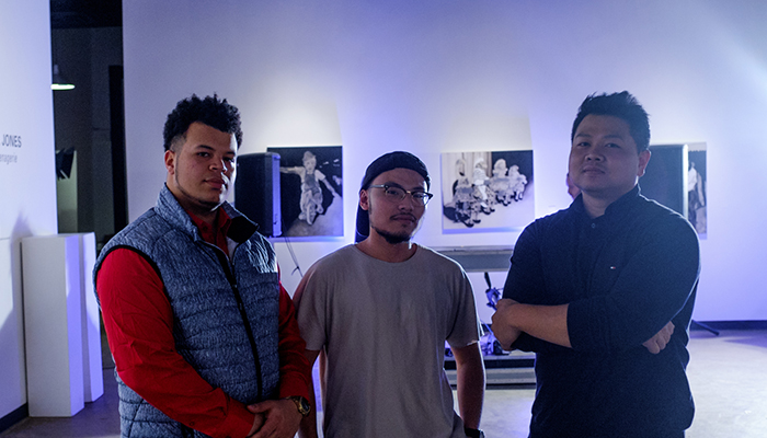 Mont Thirty Launch Party - LEFT to RIGHT - Dexter DaSilva, Redd Angelo, Chan Rin
