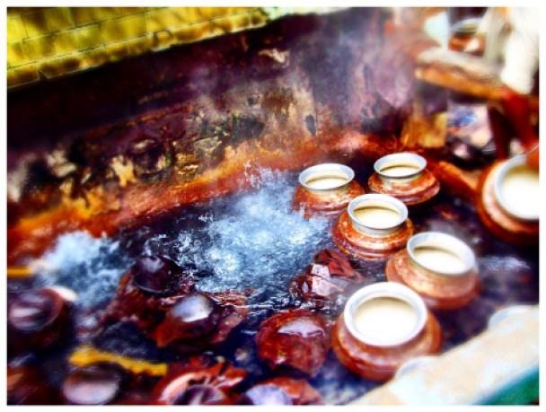 Hot springs in Manikaran Gurudwara, Kullu Manali, India