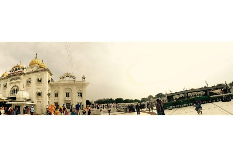 Panaromic view of the Gurudwara Bangla Sahib, Delhi, India || Places to see in Delhi, India || Things to do in Delhi, India || Travelling || Travel