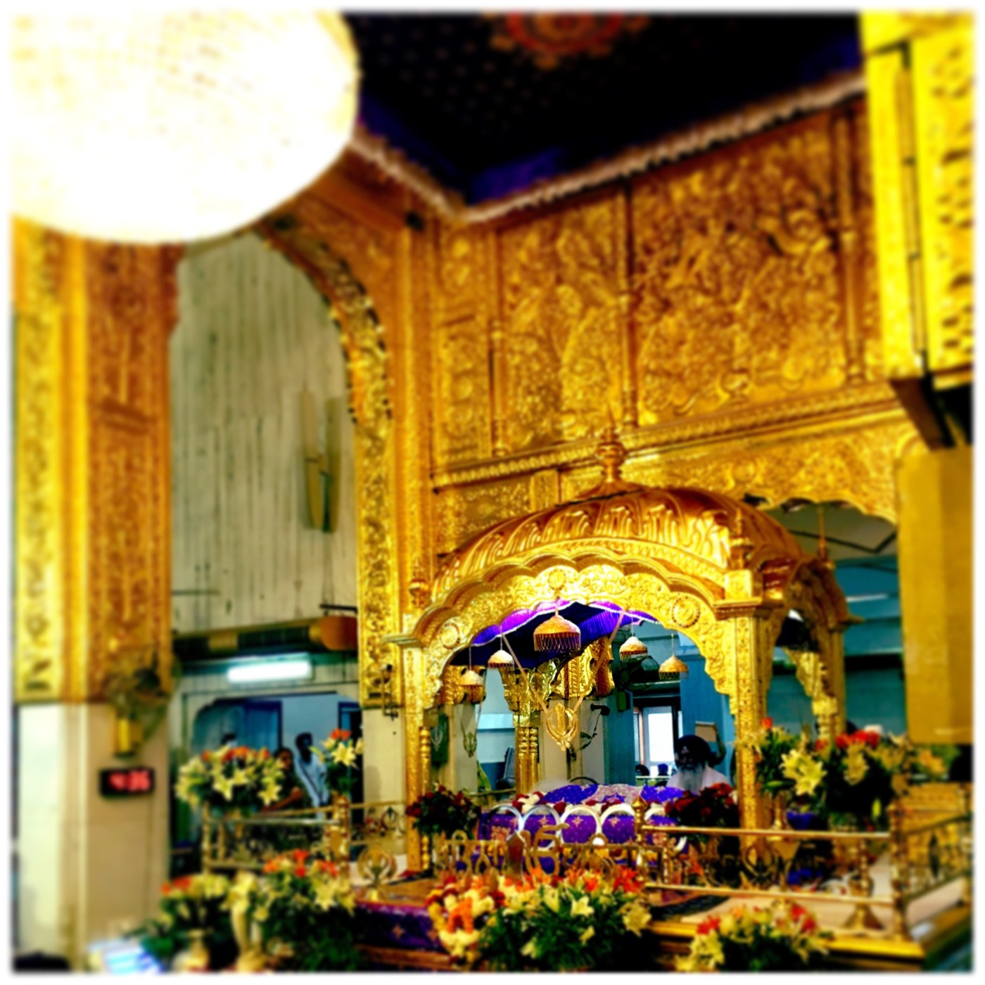 Interiors of the Gurudwara Bangla Sahib, Delhi, India || Places to see in Delhi, India || Things to do in Delhi, India || Travelling || Travel