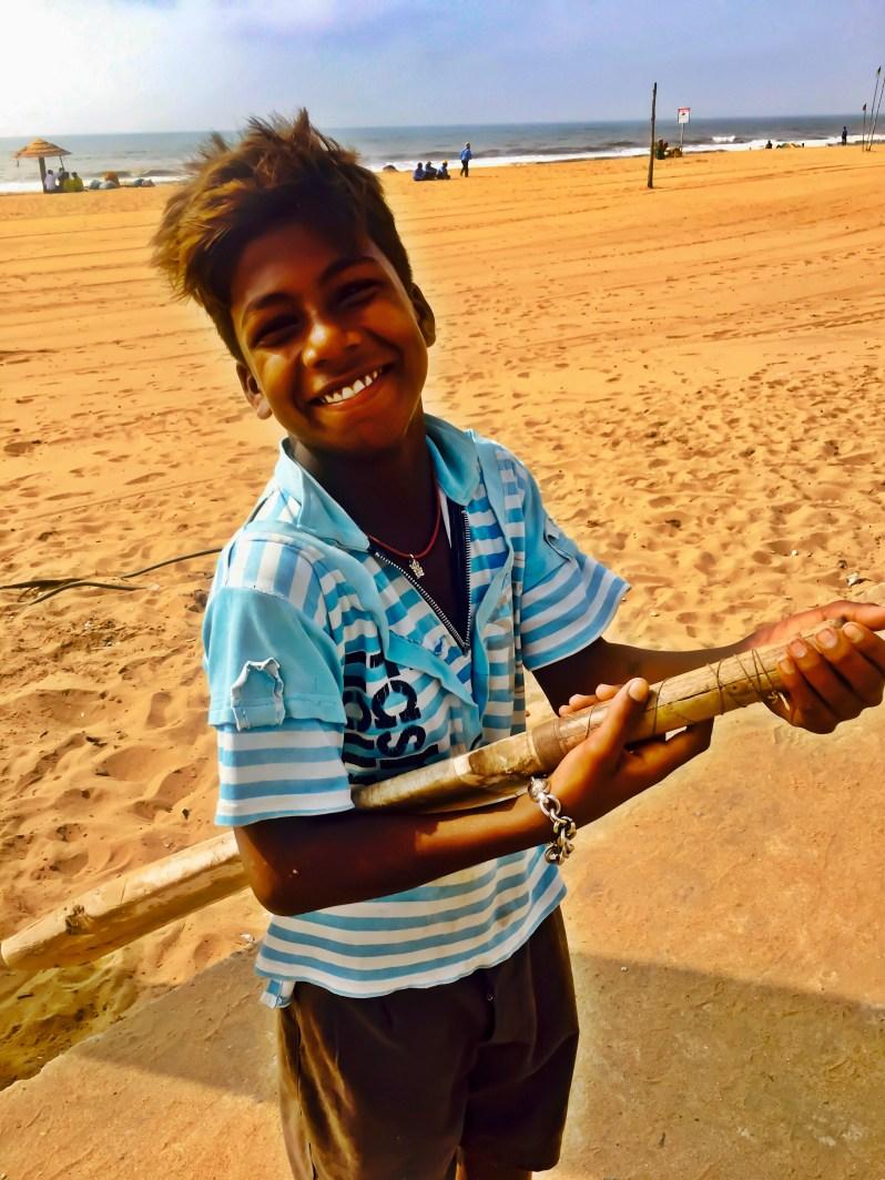 Tourist Places of Odisha | A kid in Puri Odisha India