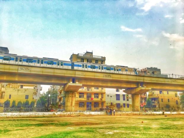 Gurgaon rapid metro, Delhi, India