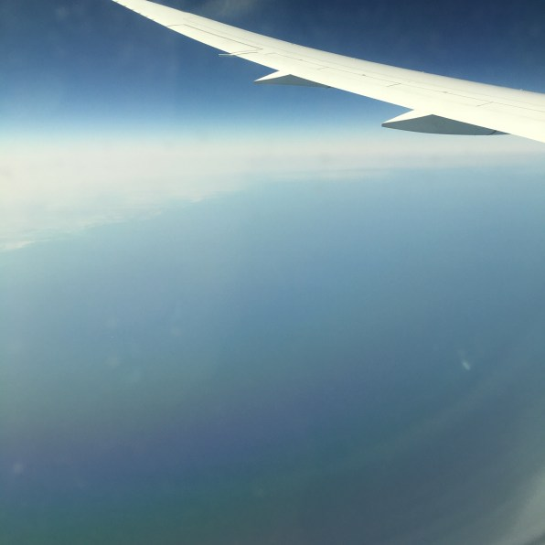 Somewhere over Doha