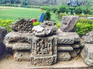 A sculpture at Sun temple konark