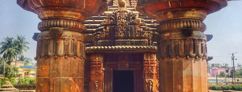 Tourist Places of Odisha | A temple in Bhubaneswar Odisha India