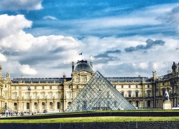 Louvre Museum Paris pyramid