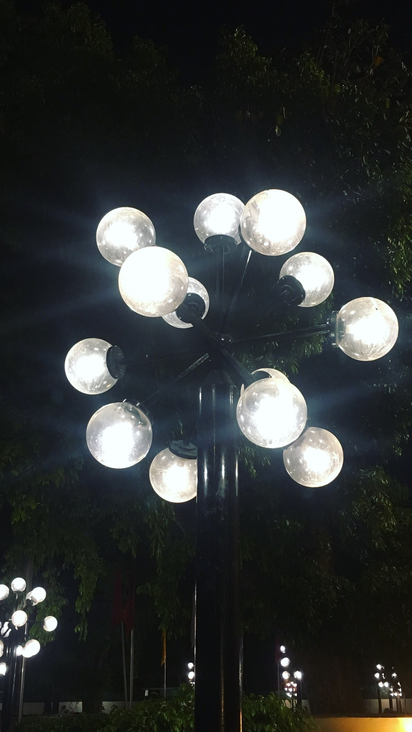 lights in Delhi, india