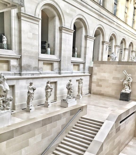 Louvre Museum Paris Interiors
