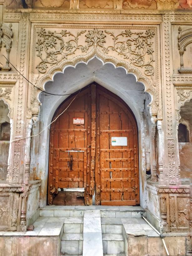 intricate Doors of Vrindavan | Vrindavan photography