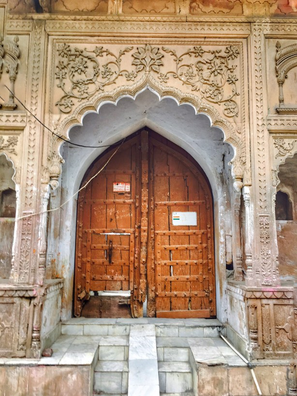 intricate Doors of Vrindavan | Vrindavan photography