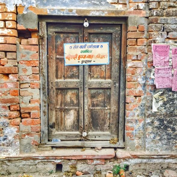 Doors of Vrindavan | Vrindavan photography