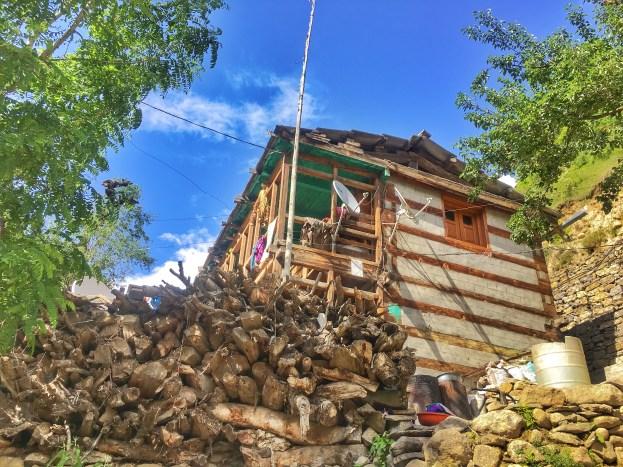 Sangla Valley Kinnaur | A house in sangla