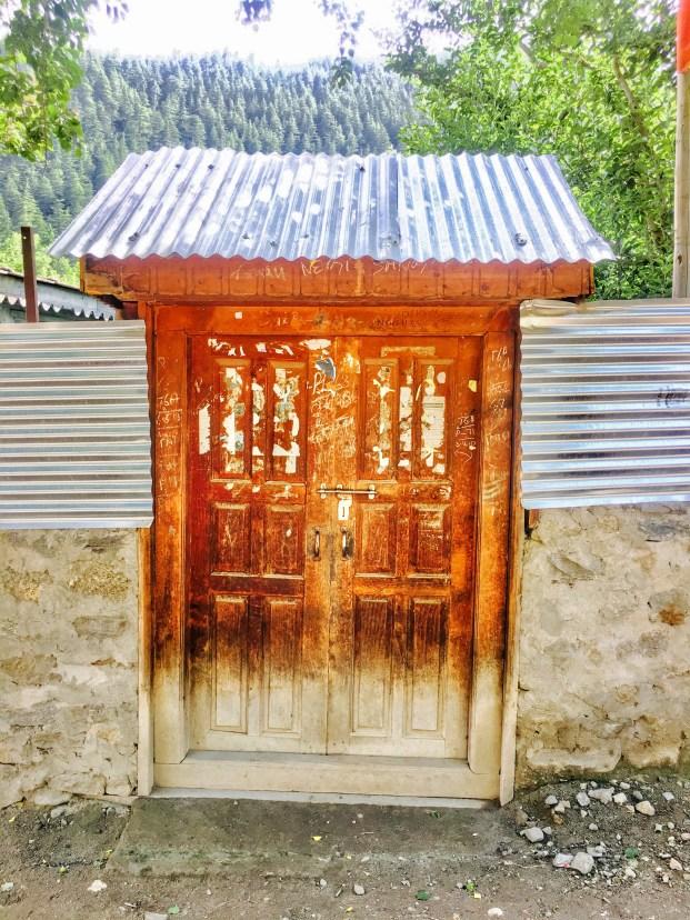 Sangla Valley Kinnaur | A door's entry in Sangla valley Himachal Pradesh India